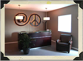 At Peace Massage & Wellness Reception Area